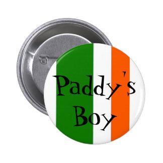 Botón irlandés del orgullo