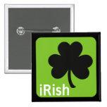 botón (irlandés) irlandés pins