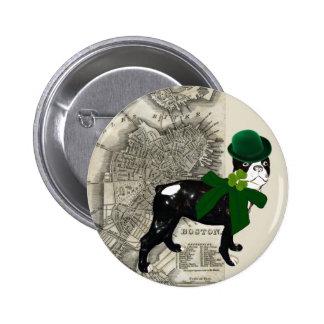 Botón irlandés pin