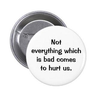 Botón italiano del proverbio No.122 Pin Redondo De 2 Pulgadas