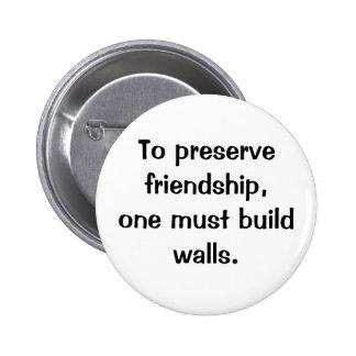 Botón italiano del proverbio No.186 Pins