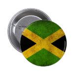 Botón jamaicano de la bandera pins