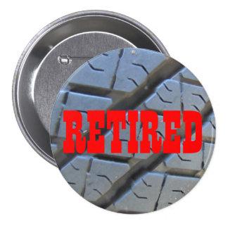 Botón jubilado para el justo jubilado pin