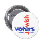 Botón JUDÍO de los VOTANTES Pin