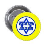Botón judío de Obama Biden Pin