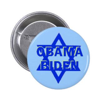 Botón JUDÍO de Obama JBiden Pin Redondo De 2 Pulgadas