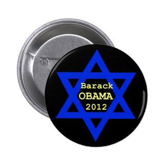 Botón judío de Obama Pin Redondo De 2 Pulgadas