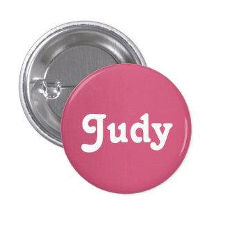 Botón Judy Pin Redondo De 1 Pulgada