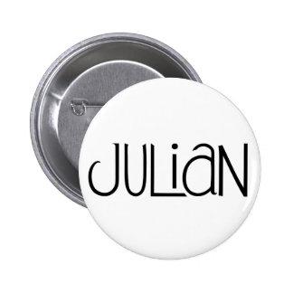 Botón juliano pins