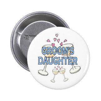 Botón: La hija del novio Pin