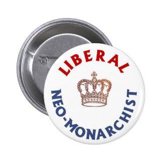 Botón liberal del Neo-Monárquico Pin
