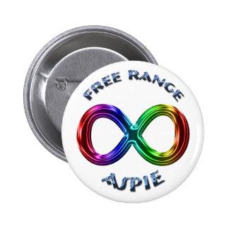 Botón libre de Aspie de la gama Pins