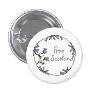 Botón libre de la independencia del Bluebell del c