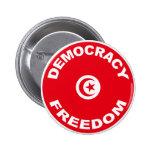 Botón libre de Túnez Pins