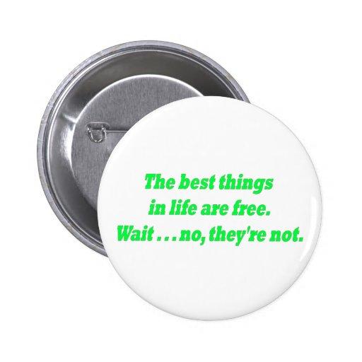 Botón libre pin