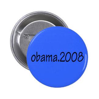 Botón ligero Obama.2008 Pin