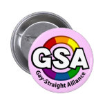 Botón ligero redondo de GSA ToonB Pin
