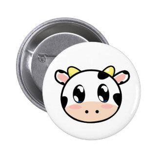 Botón lindo de la vaca de Lil