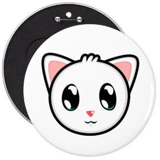 Botón lindo del gatito de Lil