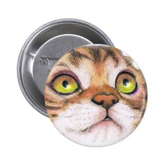 Botón lindo del gatito