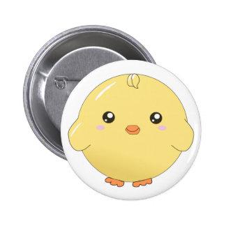Botón lindo del polluelo del amarillo del kawaii pins