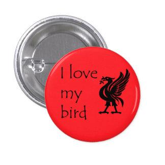 Botón - Liverpool Liverbird Pins