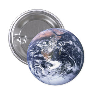 Botón lleno de la tierra
