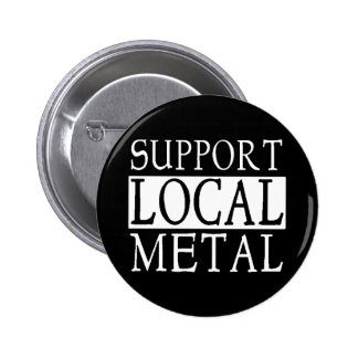 Botón local del metal pin