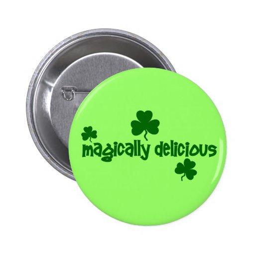 Botón mágico delicioso pins