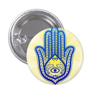 botón, mano de Fátima Pin