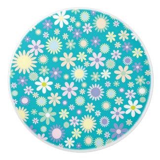 Botón/margaritas de cerámica pomo de cerámica