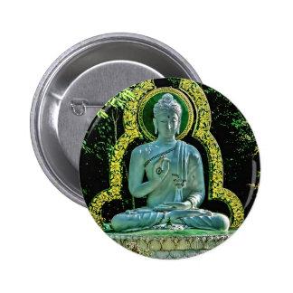 Botón Meditating de Buda