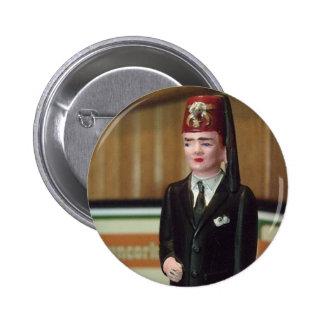Botón minúsculo de Shriner Pin Redondo De 2 Pulgadas