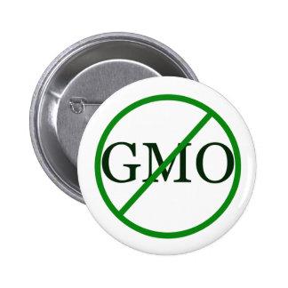 Botón modificado Gentically de la comida de Anti-G Pin Redondo De 2 Pulgadas