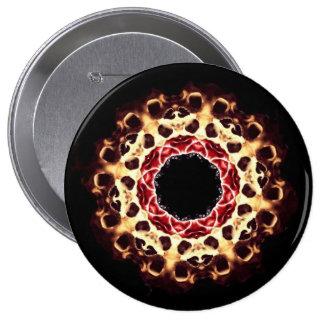 Botón Morphing de la rueda del cráneo grande