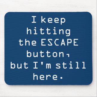 Botón Mousepad del escape