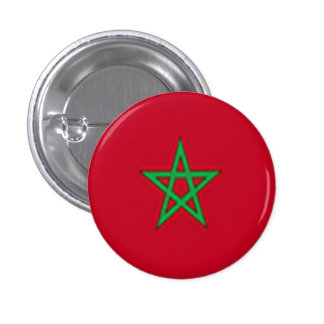 Botón nacional americano del Moorish Pin Redondo De 1 Pulgada