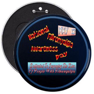 Botón nacional de la conciencia del Fibromyalgia