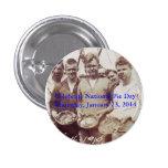 Botón nacional del día de la empanada pins