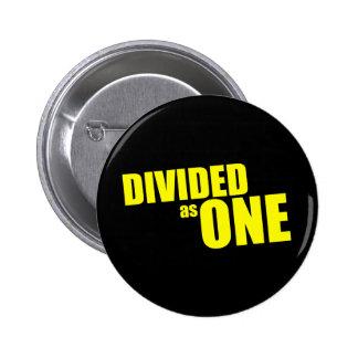 Botón negro DA1 Pin Redondo De 2 Pulgadas