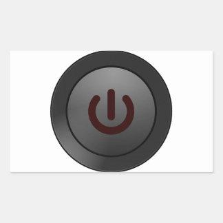 Botón negro - en símbolo rectangular altavoces