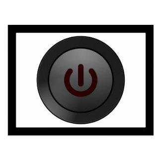 Botón negro - en símbolo postal