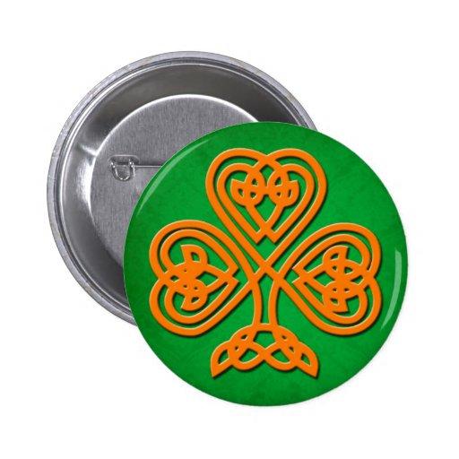 Botón No5 del día de San Patricio Pins