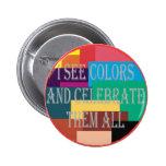 Botón no daltónico pin