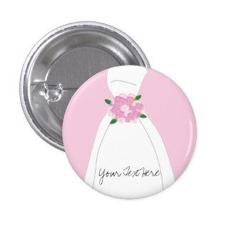 Botón nupcial rosado