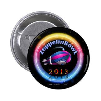 Botón oficial de ZeppelinBowl 2013 Pin