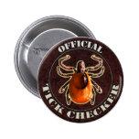 Botón oficial del inspector de la señal pin
