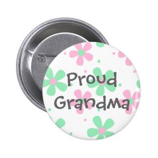 Botón orgulloso de la abuela pin