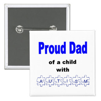Botón orgulloso del papá pins
