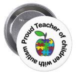 Botón orgulloso del profesor pin